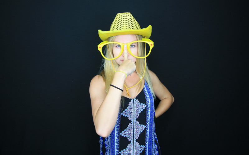 Liam's fundraiser with booth12 photo booth rentals. San Diego's premier photo booth rental!