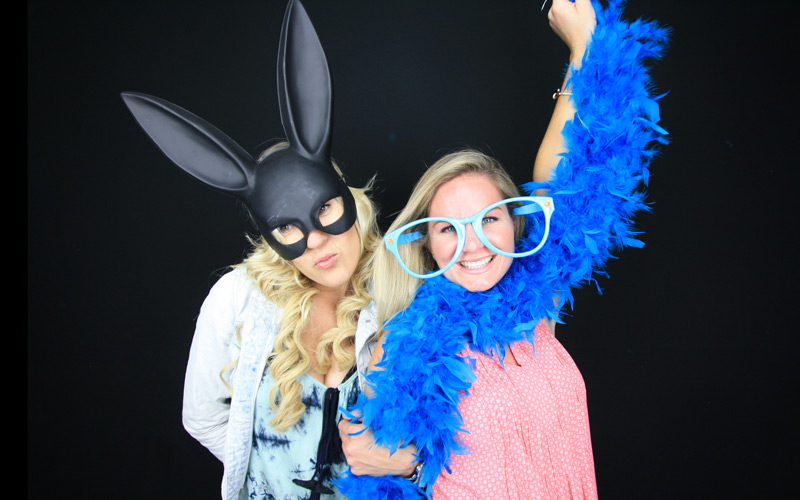 Tiffany's wedding with booth12 photo booth rentals. San Diego's premier photo booth rental!