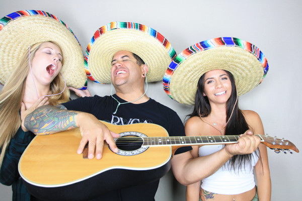 Cinco De Mayo party hosted by booth12 photo booth rentals in San Diego, CA